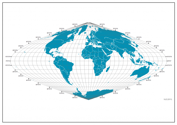 Equidistant projection