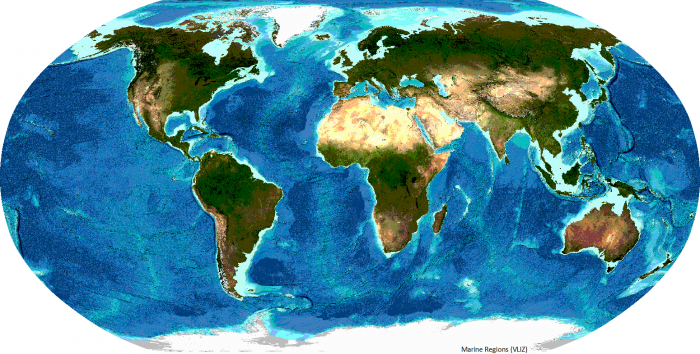 General Bathymetric Chart of the Oceans (GEBCO)