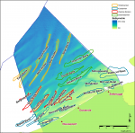 Bathymetry of the Belgian Continental Shelf