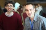 The moderators_Eduard Ariza and César Martínez (UAB)