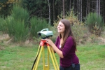 Surveying equipment - practical course