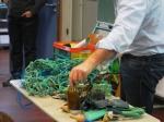 Marine Art session on pollution (prof. Janssen)