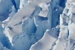 Ice cracks remnant Larsen ice shelf