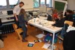 Marine Art session on diatoms