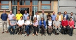 Workshop participants, from left: Niall McDonough (EMB), Anthony Grehan (Irish Marine Univ. Consrt), Paul Buckley (Cefas, UK), Athanasios Mogias (Univ. Thrace, GR), Jan Seys (VLIZ, BE), Andris Andrusaitis (BONUS), Luc Zwartjes (Univ. Gent, BE), Martha Papathanassiou (HCMR, Greece), Geraldine Fauville (Univ. Gothenburg, SE), John Joyce (AquaTT, IE), Margarita Suarez (Ciencia Viva, PT), Ferdinando Boero (CoNISMa, IT), Ivvet Modinou (Nat. Hist. Museum, UK), Sarah Knight (NUI Galway, IE), John Parr (MBA, UK), Paul Van Den Sande (Eur.Union for Aquarium Curators), Ricardo Santos (Univ. Azores, PT), Jan Stel (ICIS-Univ.Maastricht, BE), Manuel Cira (Nausicaa, FR), Nan-Chin Chu (EMB), Telmo Carvalho (EurOcean)