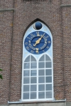 Astronomical clock at Church in Arnemuiden