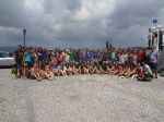 Group picture of EMBC students and teachers at the summer school in Crete 2013