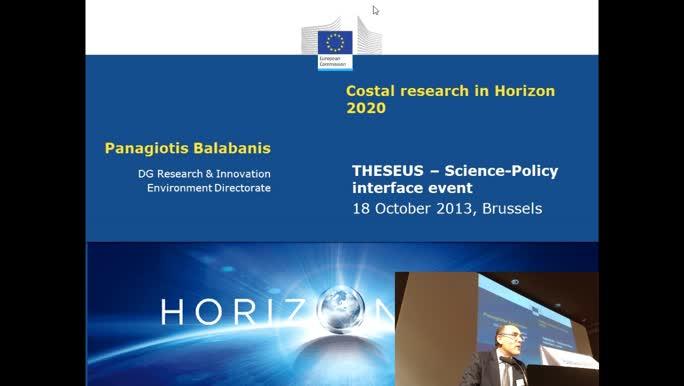 Coastal research in H2020