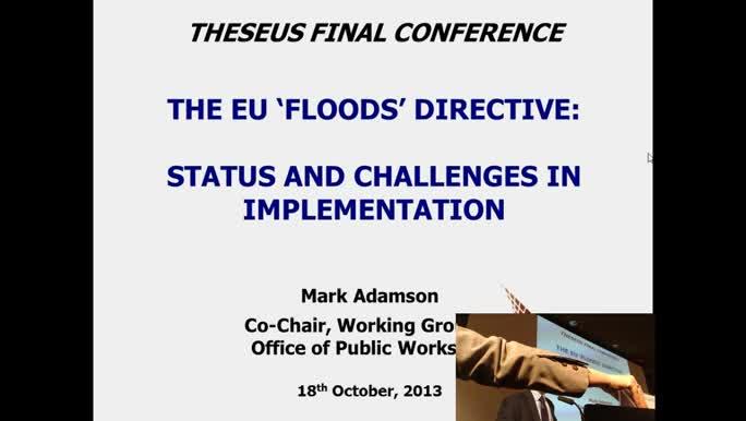 The European flood directive
