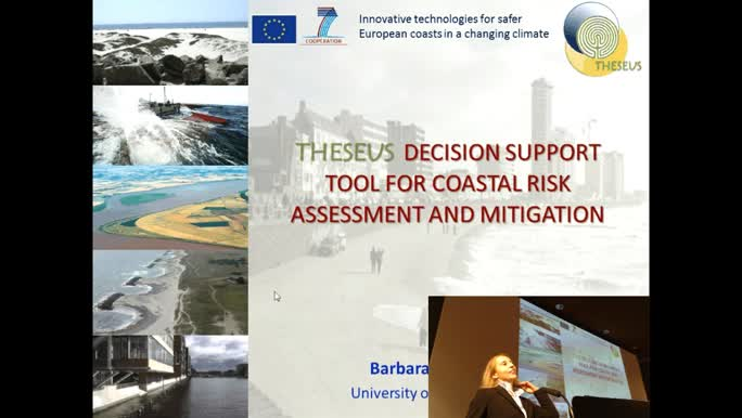 A decision support tool for coastal risk assessment and mitigation