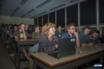 Audience during the lecture evening