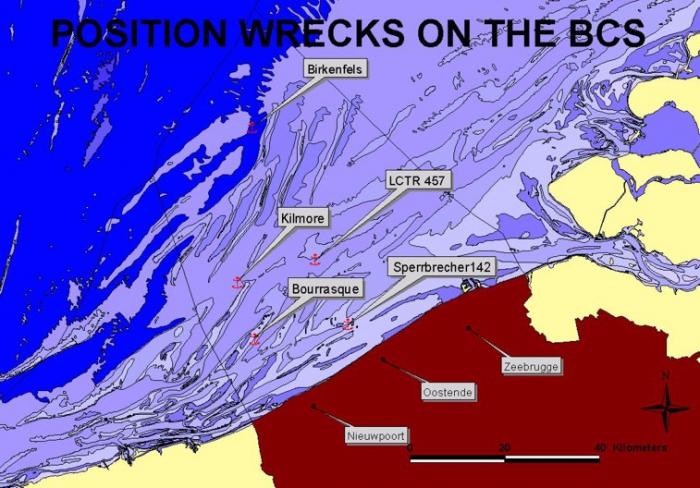 Bewremabi wreck locations