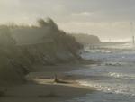Kliffen na stormen