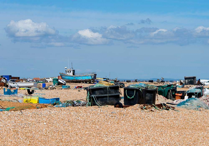 Fishing 'clutter' on beach