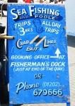 Advertising fishing trips