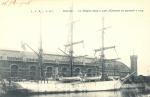 De Belgica in Oostende in 1905