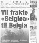 """Vil frakte """"Belgica"""" til Belgia"""