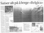 "Satser alt pa a berger ""Belgica"
