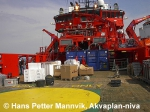 preparing ship