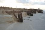 Cliffs after storms