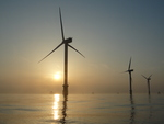 Wind turbines at C-Power