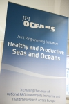 JPI Oceans office inauguration banner