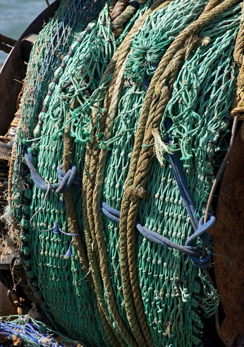 Nets on boats
