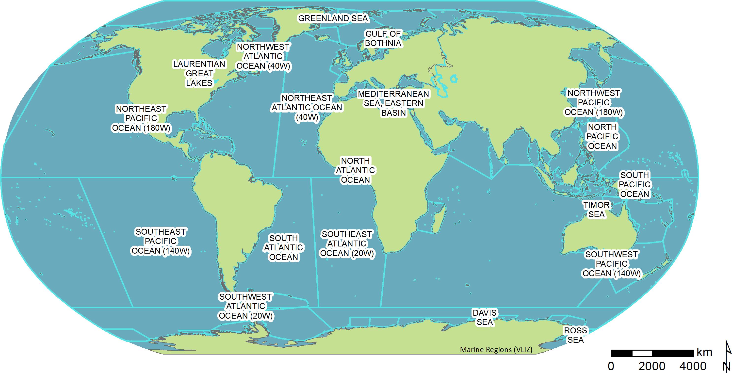 Marine Regions Photogallery
