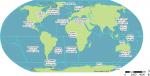 The SeaVoX Salt and Fresh Water Body Gazetteer (v16)