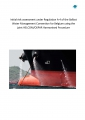 Beleidsinformerende Nota: Initial risk assessment under Regulation A-4 of the Ballast Water Management Convention for Belgium using the joint HELCOM/OSPAR Harmonised Procedure