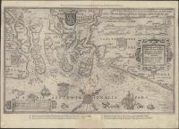 Beschrijvinghe vande Zeeusche Eijlanden Soe die op hare Stromen geleghen zijn, met een deel vande Zee Custen van Vlaenderen ende hollant. Insularum Zelandiae, partisque Flandriae et Hollandiae accuratissima littoralis descriptio (1583)