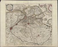 Caerte van t'Vrye synde een gedeelte van Vlaendren van nieus gecorigeert en met vlijt gebetert (1640)