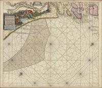 De Groote Nieuwe Vermeerderde Zee-atlas ofte Water-werelt.  […]Paskaarte begrypende in zich de kusten van Hollandt en Zeelandt…