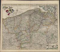 Comitatus Flandriae tabula in lucem edita a Frederico De Wit Amsterodami