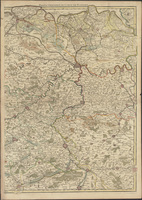 Le Comté de Flandres divisés en ses chastellenies, balliages etc (B) (1720)