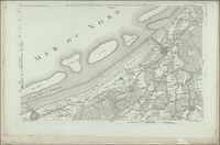 Carte chorographique de la Belgique dédiée à la Convention NationaleKaart: Nieuport (1793)