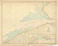 Nordsee Belgische und Niederländische Küste Mündung der Westerschelde (1960)