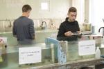 Labo analyse en presentatie in Station Marine de Wimereux, Frankrijk (2016.05.11)