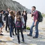 Geologie en paleontologie aan Cap Blanc Nez, Frankrijk (2016.05.12)