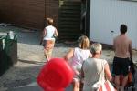 Mensen op een camping in De Haan. (15.07.07)