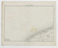 Carte topographique de la Belgique, dressée sous la direction de Ph.Vander Maelen, fondateur de l'établissement géographique de Bruwelles, à l'échelle de 1 à 20.000, en 250 feuilles. - Blankenberghe