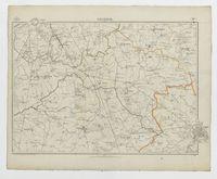 Carte topographique de la Belgique, dressée sous la direction de Ph.Vander Maelen, fondateur de l'établissement géographique de Bruwelles, à l'échelle de 1 à 20.000, en 250 feuilles. - Contich