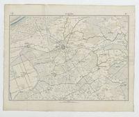 Carte topographique de la Belgique, dressée sous la direction de Ph.Vander Maelen, fondateur de l'établissement géographique de Bruwelles, à l'échelle de 1 à 20.000, en 250 feuilles. - Furnes