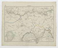 Carte topographique de la Belgique, dressée sous la direction de Ph.Vander Maelen, fondateur de l'établissement géographique de Bruwelles, à l'échelle de 1 à 20.000, en 250 feuilles. - Lokeren