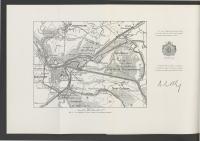 Carte des inondations de l'Yser et Wateringue du Nord de Furnes - Nieuport