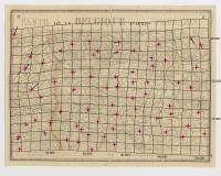 Carte de la Belgique d'après Ferraris, augmentée des plans des six villes principales et de l'indication des routes, canaux et autres traveaux exécutés depuis 1777 jusqu'en 1831. 42 feuilles. II - Gand