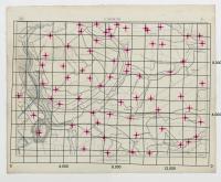 Carte topographique de la Belgique, dressée sous la direction de Ph.Vander Maelen, fondateur de l'établissement géographique de Bruwelles, à l'échelle de 1 à 20.000, en 250 feuilles. - L'Ecluse