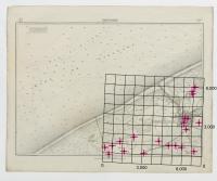 Carte topographique de la Belgique, dressée sous la direction de Ph.Vander Maelen, fondateur de l'établissement géographique de Bruwelles, à l'échelle de 1 à 20.000, en 250 feuilles. - Nieuport