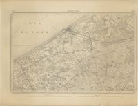 Cartes topographiques et militaires de la Belgique - Ostende