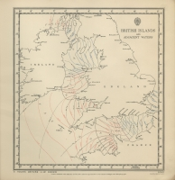 Atlas of tides and tidal streams - British Islands and adjacent waters. 5 hours before H.W. Dover